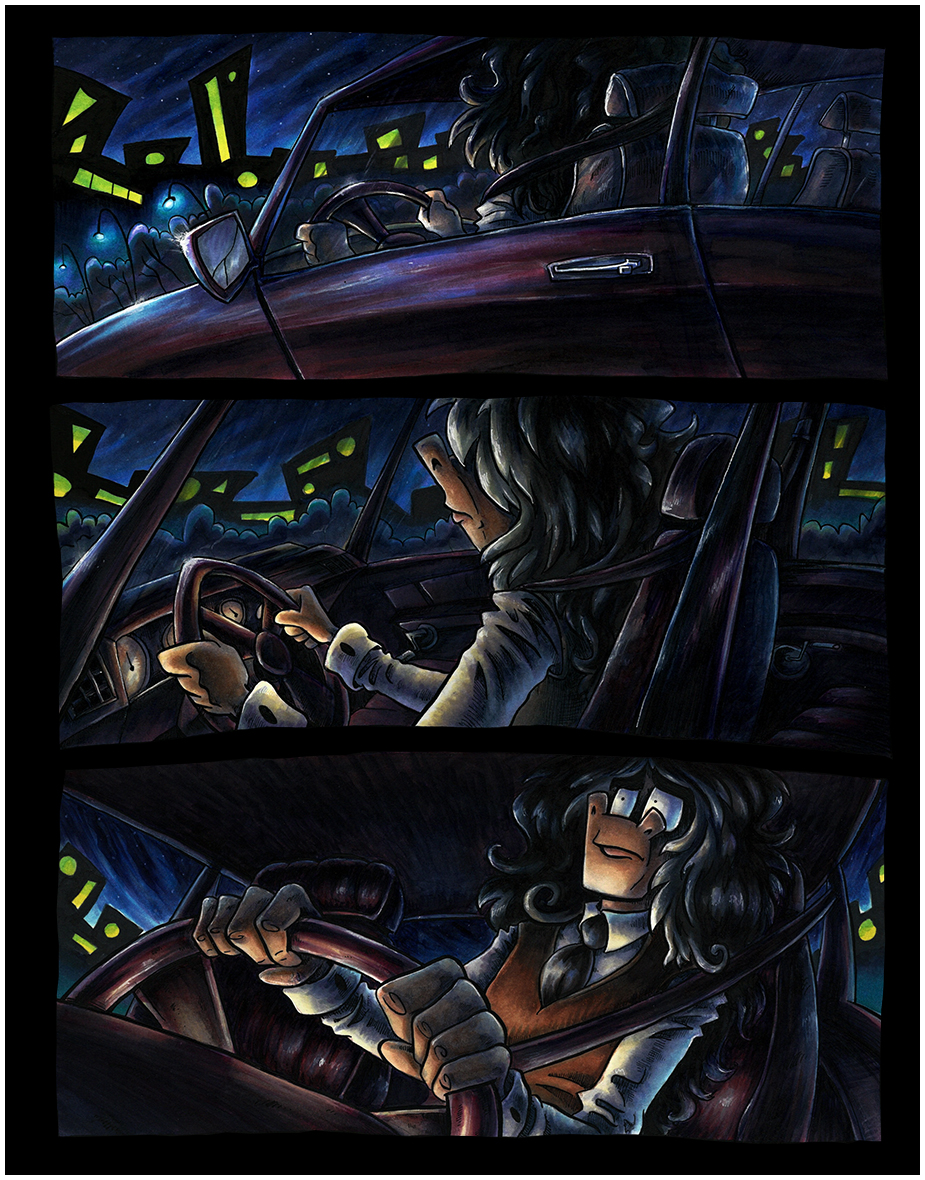 Chapter 2 Page 2: Uncomfortable Car Ride